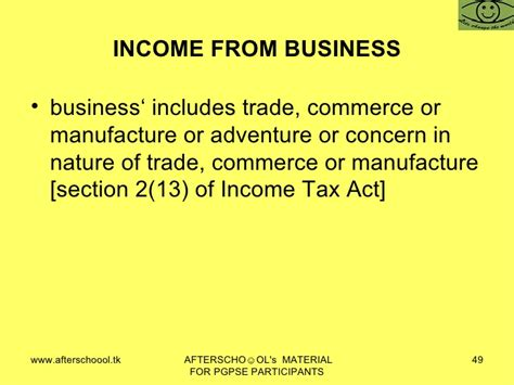 section 49 1 of income tax act in come tax law of india