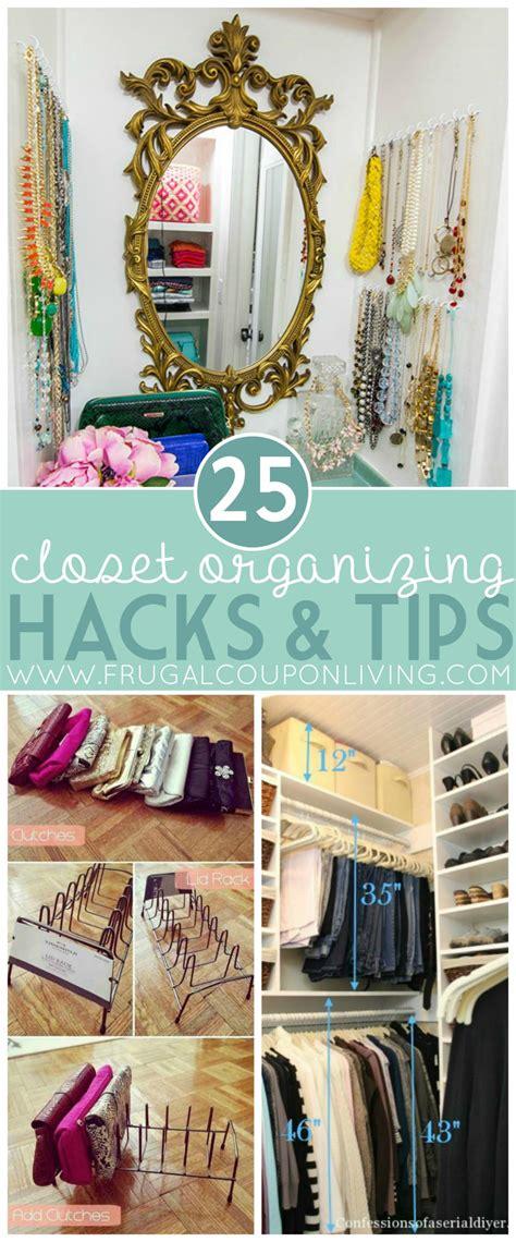 organizing hacks amazing closet organizing hacks tips everyone need veryhom