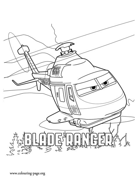 dusty plane coloring pages
