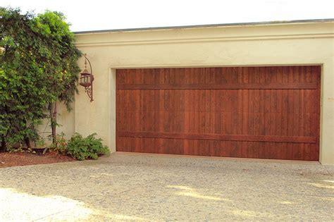 Garage Doors Unlimited Stain Grade Custom Wood Garage Doors Garage Doors Unlimited