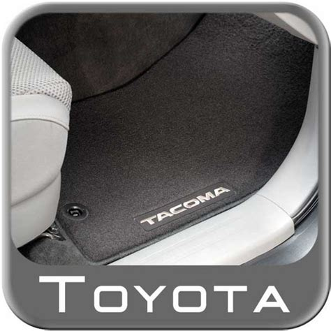 Toyota Tacoma Floor Mats 2011 by 2011 2015 Toyota Tacoma Carpeted Floor Mats Charcoal