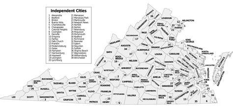 virginia usa map map of virginia map counties worldofmaps net