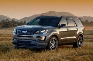 Ford Sports 2016 Ford Explorer Reviews And Rating Motor Trend