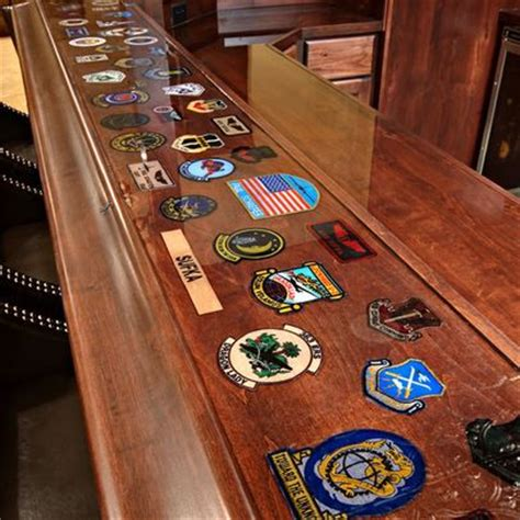 ethnic decoration the man cave military decorated bar top for basement mancave
