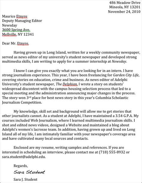 Newscast Director Cover Letter sponsorship letter and templates sponsorship newscast director cover letter order