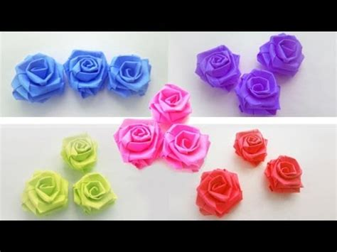 How To Make Small Paper Roses - how to make small paper roses simplekidscrafts