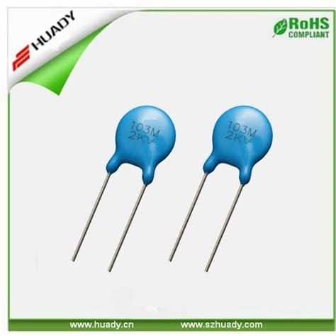 capacitor 103m high voltage ceramic capacitor 103m 2kv ceramic capacitor 6kv shenzhen huady technology