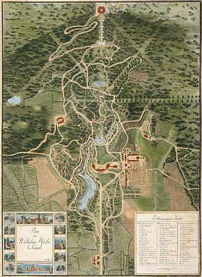 Karte Englischer Garten München Pdf by Bergpark Wilhelmsh 246 He
