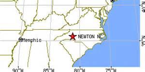 newton carolina nc population data races