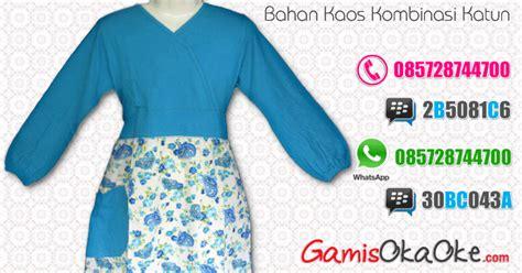 Gamis Anak No 4 Stripe Dannis baju muslim anak perempuan murah