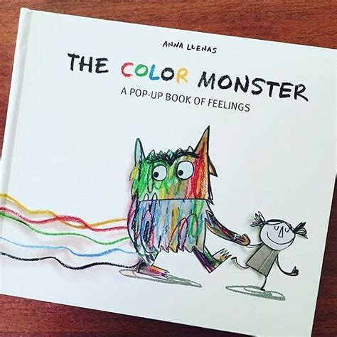 libro the colour monster the color monster perfect book for helping young children understand emotions and also about
