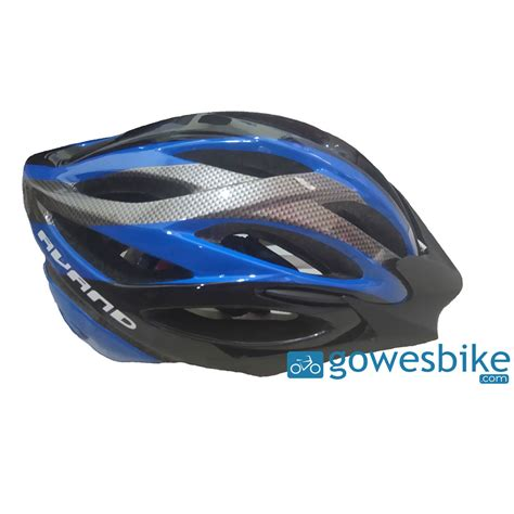 Helm Avand helm sepeda avand a 06 biru hitam jual baju jersey celana sepeda mtb