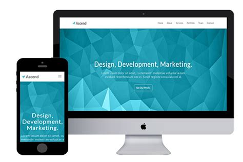 free bootstrap html5 templates ascend bootstrap html5 template html5xcss3