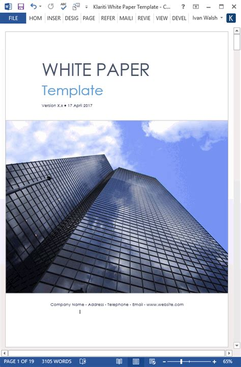 white paper templates white paper templates 15 ms designs for sales marketing