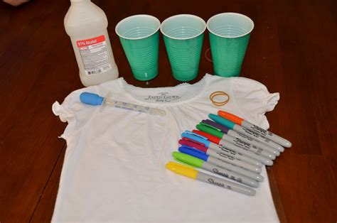 How To Make Tie Dye Paper With Markers - tie dye tshirt with sharpie markers doc docdroid