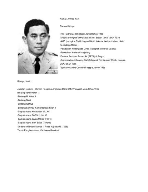 biografi bung tomo foto pahlawan revolusi biografi