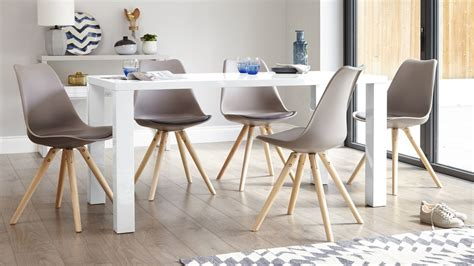 white dining table for 6 modern white gloss dining table 6 seater table uk