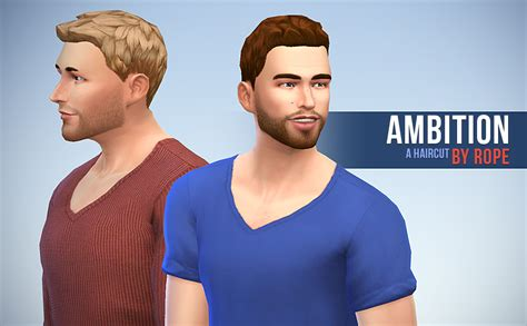 hairstyle matcher for men simsontherope abitions hairstyle by rope sims 4 hairs