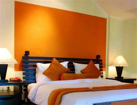 orange schlafzimmerdekor dekor schlafzimmer romantisch