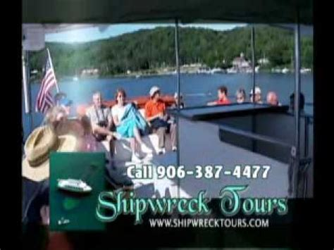 glass bottom boat shipwreck tour glass bottom boat shipwreck tour in munising wmv youtube