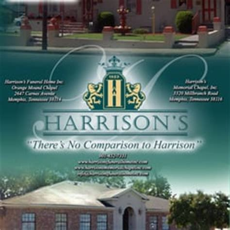 harrison s orange mound funeral home funeral services