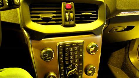 Volvo V40 Interior Lighting by Volvo V40 Cross Country Interior Dashboard