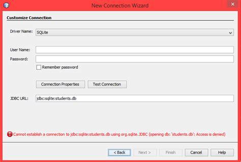 java netbeans sqlite tutorial java jtable sqlite binding problems in netbeans stack