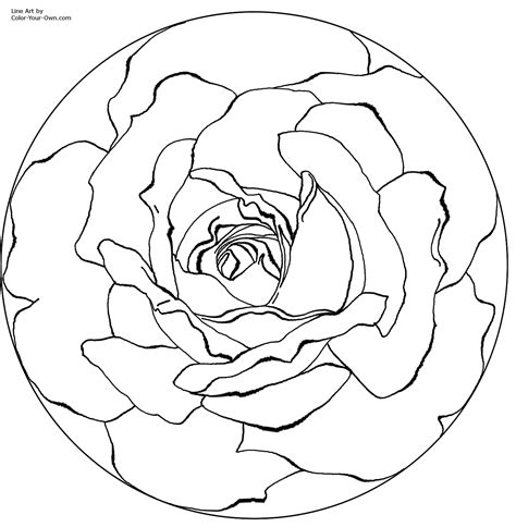 mandalas coloring pages on coloring book info image mandala coloring pages free printable coloring