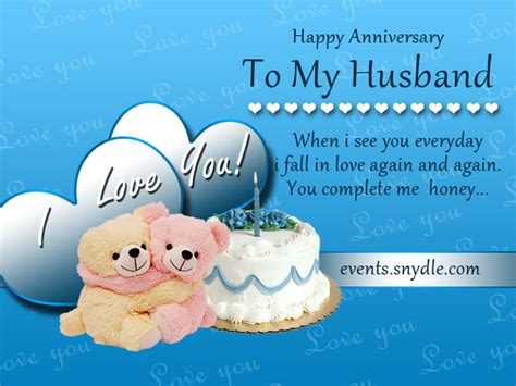 Wedding Anniversary Greetings Husband by Wedding Anniversary Cards For Husband Festival Around