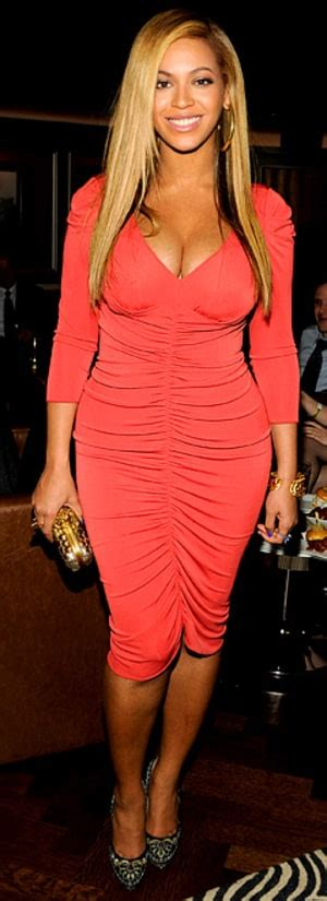 Beyonces Clothing Range Aimed At Normal by Beyonce Reveals Post Baby 1 Month After Giving