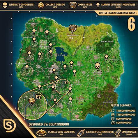 fortnite week 6 treasure map fortnite how to complete the week 6 challenges