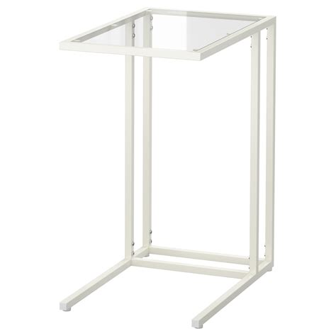 Laptop Desk Stand Ikea Vittsj 214 Laptop Stand White Glass 35x65 Cm Ikea