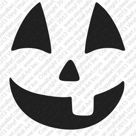 classic jack o lantern stencils free printable free printable easy funny jack o lantern face stencils