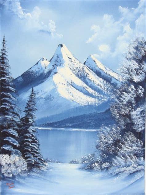 bob ross paintings winter bob ross class paintings