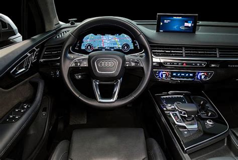 audi dashboard 2017 2017 audi prestige q7 2017 2018 best cars reviews