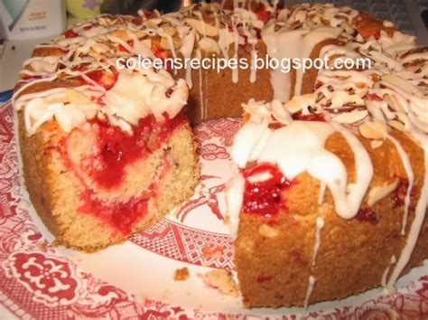 Coleen's Recipes: CHERRY ALMOND COFFEE CAKE