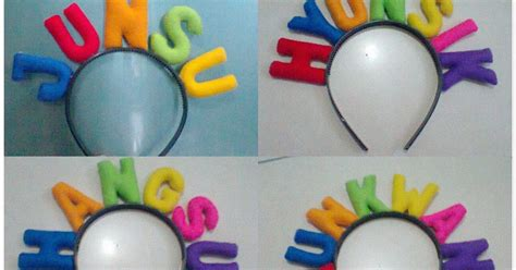 Bando Nama Anak Flanel happy after shop bando flanel nama