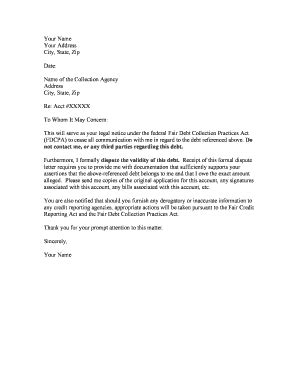 sample letter business closure government agency