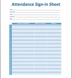 template for sign in sheet attendance sign in sheet template printable templates