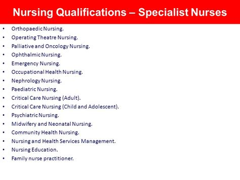 implementation of qualifications ppt