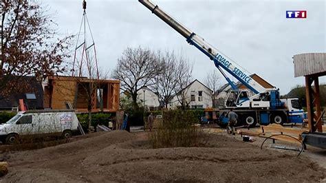 Maison Demontable Transportable by Logement Gros Plan Sur Une Maison D 233 Montable Et