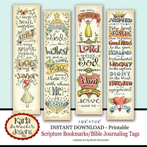 printable bookmarks etsy luke 1 4 bible bookmarks bible journaling tags instant
