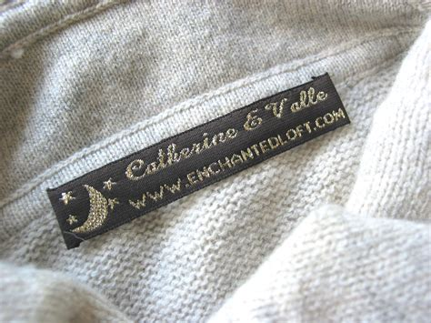 Woven Labels For Handmade Items - woven labels for handmade items custom sewing labels