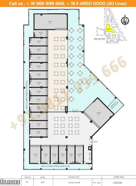 Food Court Floor Plan | floor plan m3m urbana ground first second floors and