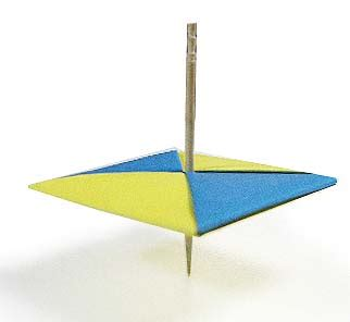 Top Origami - origami spintop