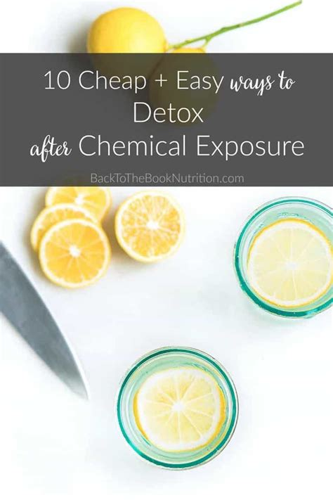 Easy Cheap Detox by 10 Cheap And Easy Ways To Detox From Chemical Exposure
