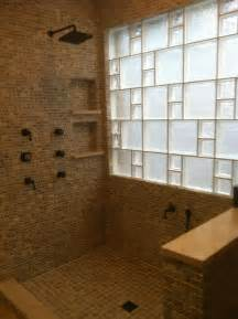 glass blocks for beautiful bathroom windows houston