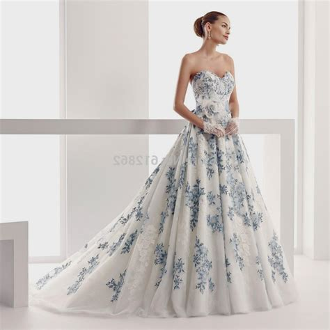 white and blue wedding dresses strapless white and blue wedding dresses www imgkid