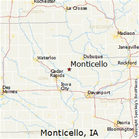 iowa code section best places to live in monticello iowa