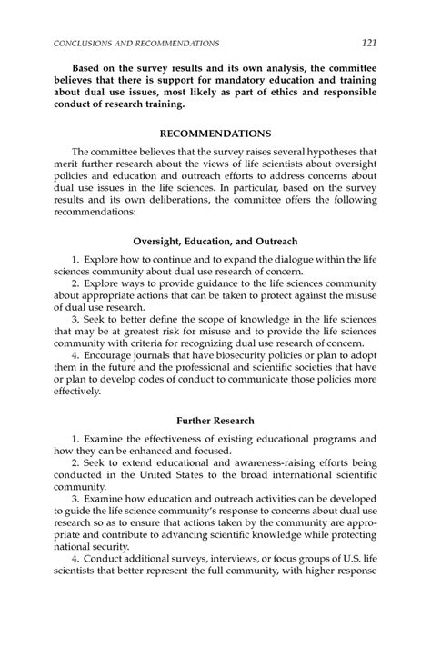 research paper recommendation exle sle conclusion and recommendation for thesis